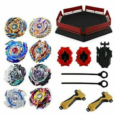 12Pcs SET Beyblade Burst Evolution Arena Launcher Battle Platform Stadium Toy
