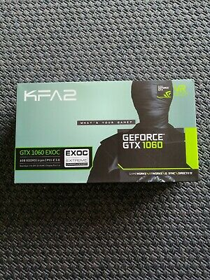 NVIDIA GeForce GTX 1060 EXOC 6Gb (KFA2)