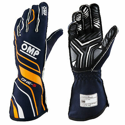 OMP One S FIA 8856-2018 Approved Race Gloves