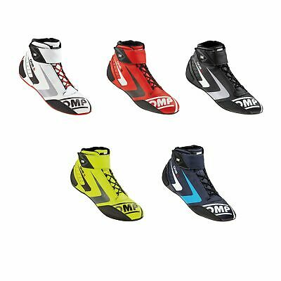 OMP One S FIA Approved Leather Race / Rally Boots