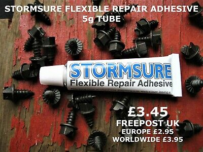 Stormsure Flexible Repair Adhesive Clear 5g Tube: Only £3.45 : FREE POSTAGE UK