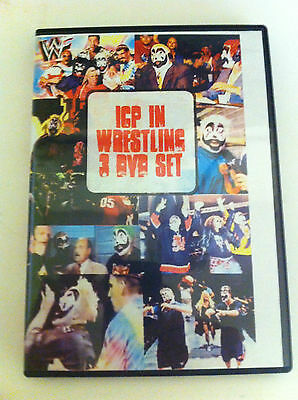 ICP Wrestling 4 DVD 16 hrs everything that has ICP Insane Clown Posse twiztid