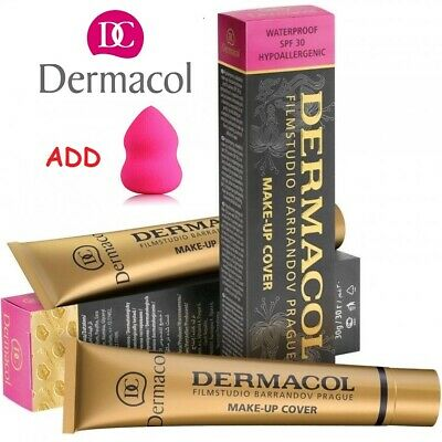 Dermacol High Cover Makeup Foundation Waterproof SPF-30 Authentic - Choose Shade