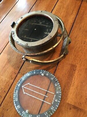 Sestrel.henry Browne Brass Ships Compass Nautical