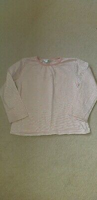 Girls M&Co Striped L/S Top Age 2_3 Years