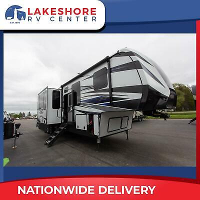 2020 Demo Keystone Fuzion 419 5th Wheel Toy Hauler Rv Camper Call Now and Save