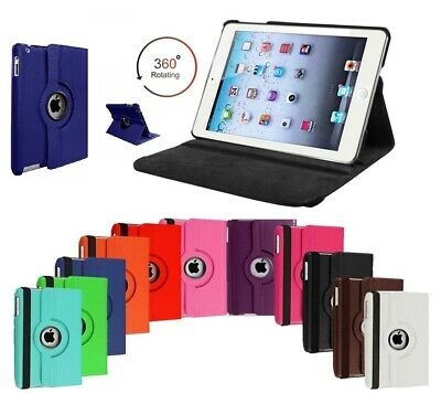 """360 Rotating Leather Smart Case Cover For Apple iPad 10.2"""" 2019 (7th Generation)"""