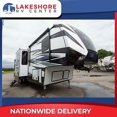 New Keystone Fuzion 429 5th Wheel Toy Hauler Camper Rv Call Will Now To Save