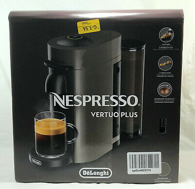 NEW SEALED - Nespresso Vertuo Plus by Delonghi, Coffee & Espresso Machine..