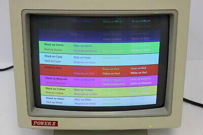"Power Ii High Res 3E 14"" Color Monitor"