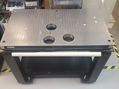 "TMC CleanTop Optical Breadboard Steel Top Vibration Isolation Table 40 x 23"" A"