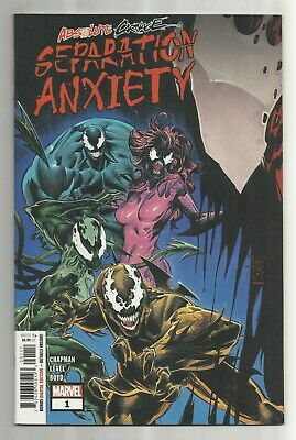 2019 (Marvel) Absolute Carnage SEPARATION ANXIETY #1 Comic Book 1ST PRINT!!!