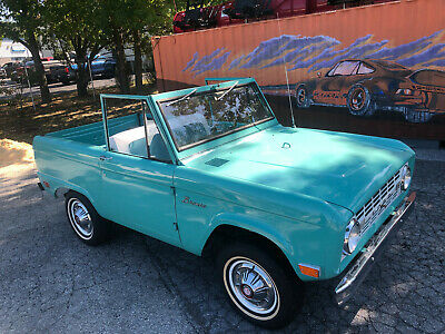 1968 Ford Bronco Delivery Wagon Looney, the 1968 Bronco Lunar Green Delivery Wagon 3spd 6cyl Lots of Records