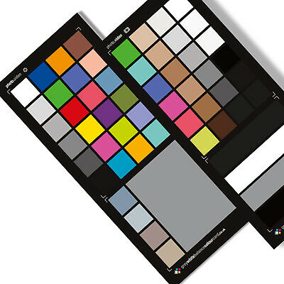4 in 1 Grey White Balance Colour Card  for Photography and Video