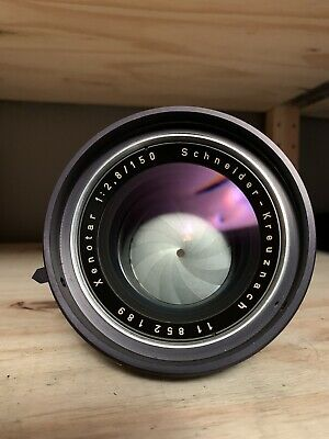MINT RARE Schneider Kreuznach 150mm f2.8 Xenotar Barrel Lens Military