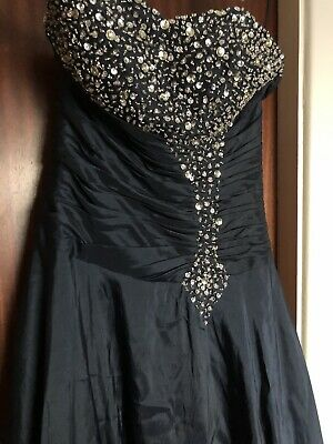 Size 10 Navy Ball Gown/Prom Dress/Bridesmaid Dress