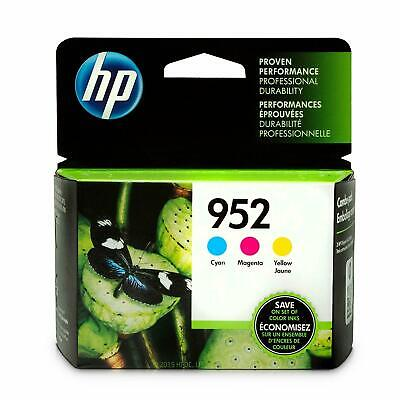 HP 952 Black And Color Cyan, Magenta and Yellow Ink Cartridges 4-pack Genuine