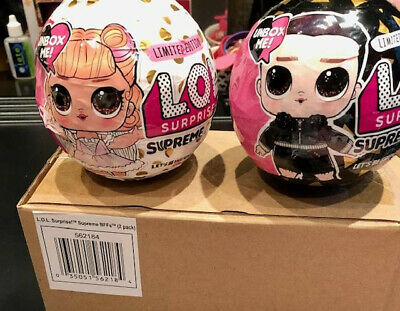 LOL Surprise Supreme BFFs Limited Edition (2 pack) Brand New