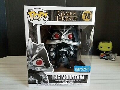 Funko PoP! Game of Thrones 6 Inch The Mountain #78 Masked Walmart Exclusive NEW!