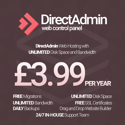 Unlimited Website / Web Hosting For 1 Year, SSD Cloud Hosting, Support Included!
