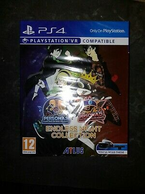 New & Sealed Persona 3 & 5 Endless Night Collection - PS4