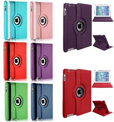 """For iPad 10.2"""" 2019 (7th Generation) 360 Rotating Leather Smart  Case Cove Hot"""