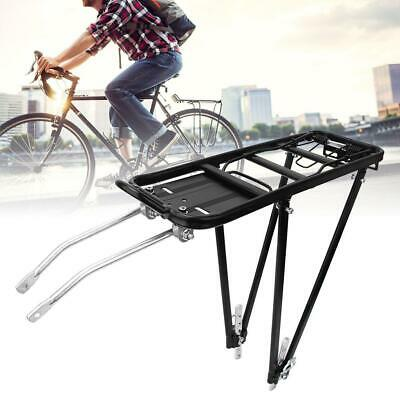 Retractable Aluminum Alloy Bike Bicycle Rear Seat Post Rack Pannier Luggage G1K7