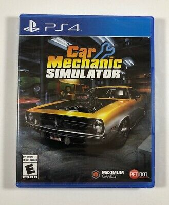 Car Mechanic Simulator (PlayStation 4, PS4) New - Fast Free Shipping