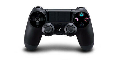 PS4 Wireless DualShock 4 Controller - Jet Black (10037) - Ships From U.S.A.