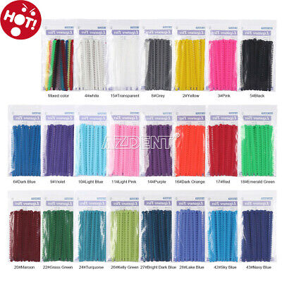 1000Pcs Dental Orthodontic Ligature Ties Elastic Rubber Band for Bracket 23Color