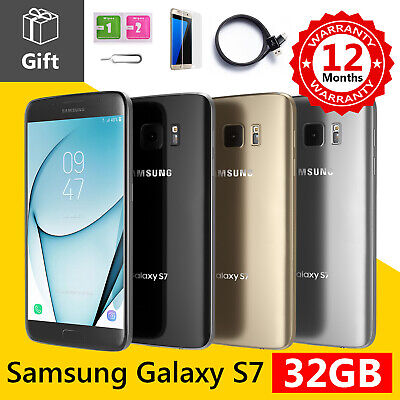 Samsung Galaxy S7 - 32GB - (GSM Unlocked) Android Smartphone Various Colours