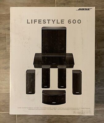 Bose Lifestyle 600 Home Theater System in Black - BRAND NEW Factory Sealed!
