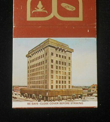 1970s 1st National Bank Drive-In Banking Breckenridge TX Stephens Co Matchbook