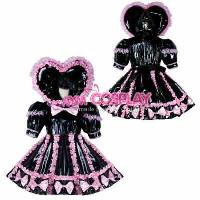 Adult sissy baby Maid PVC Dress Vinyl  CD/TV Tailor-made