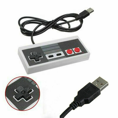 1x Gameboy Gamepad USB Wired Play Game Controller Joypad For Nintendo NES PC AU
