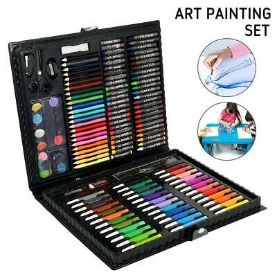 150pc Art Set Childrens Kids Colouring Drawing Painting Arts & Crafts Case.