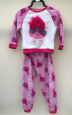 Genuine Trolls Fleese Pyjamas PJs Girls Age 5-6