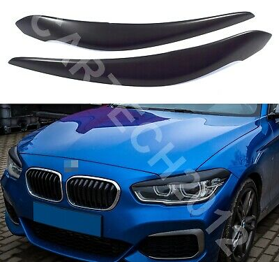 Fits BMW 1 Series F20 F21 Headlights  Eyebrows ABS PLASTIC, TUNING