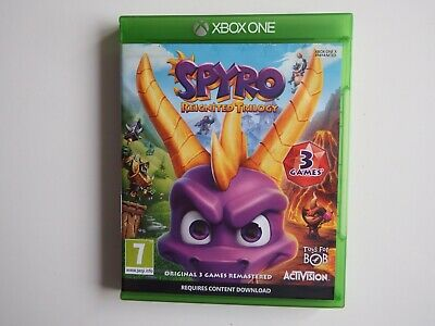 Spyro: Reignited Trilogy on Xbox One in MINT Condition