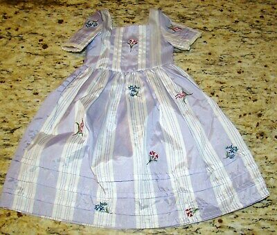 American Girl Felicity Lavender Meet Dress Gown