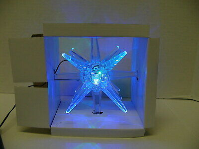 Sylvania Led Color Changing Moravian Star Tree Topper