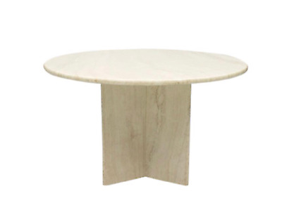 Italian Travertine Dining Table 70s 70er Travertin Esstisch