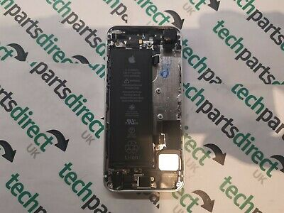 Genuine Apple iPhone SE rear back cover chassis housing battery A1723 Silver