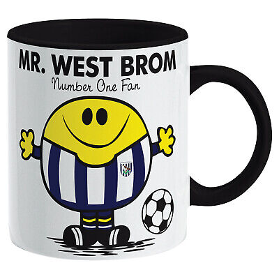 West Bromwich Albion Mug. WBA Gift for Man Football Soccer Present Xmas Idea Men