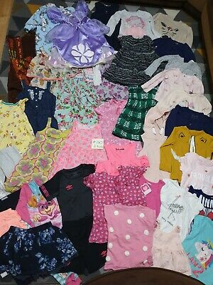 Huge Bundle Of Girls Clothes 2-3years #730 GEORGE NEXT M&S DISNEY PRIMARK SOPHIA