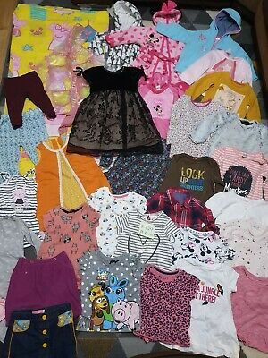 Huge Bundle Of Baby Girl Clothes 18-24months #729 GEORG NEXT LAURA ASHLEY F&F