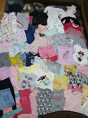 Huge Bundle Of Baby Girl Clothes 12-18months #728 GEORG NEXT RIVER ISLAN M&S GAP