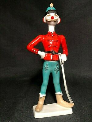 Pair of Hollohaza Hungarian Clown Soldier Mint Condition