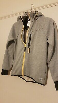 Polarn O Pyret Water Resistant  Soft Shell Jacket Grey Size 146 10 11 Yrs