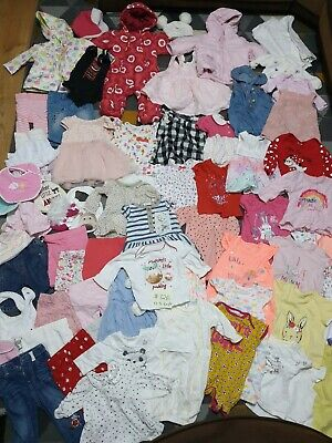 Huge Bundle Of Baby Girl Clothes 0-3-6months #726 GEORGE NEXT M&S F&F NUTMEG